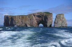 Le Rocher Percé est un symbole de la Gaspésie
