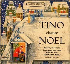 Tino chante Noël... Ce disque tournait en boucle sur la platine, à la maison, pour accompagner tous les Noëls de mon enfance ! ✨