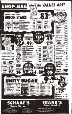 Shop N Bag Grocery Store Ad | Flickr - Photo Sharing!