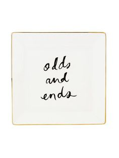 Kate Spade  Odds and Ends small dish