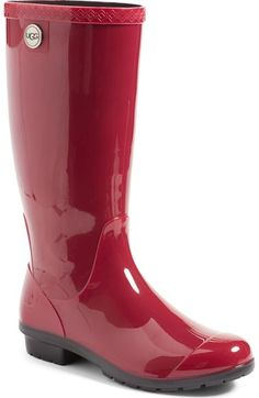 UGG® 'Shaye' Rain Boot (Women) available at #Nordstrom
