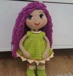 Selam arkadaşlar bu gün sizlere çok tatlı, çok renkli yapımı çok zevkli örgü bebek tarifi vereceğim. Örgü bebeğimin ismini de kardelen koydum. Örgü oyuncak kardelen bebek tarifine geçmeden önce bazı küçük Baby Knitting Patterns, Crochet Toys Patterns, Stuffed Toys Patterns, Amigurumi Free, Amigurumi Doll, Baby Toys, Crochet Baby, Free Crochet, Knitted Baby