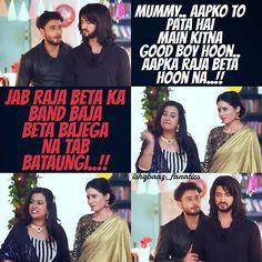 When Rudra was asked if he mixed alcohol in the fruit punch....  #Jhanvi #Pinky #Omkara #Rudra #OmRu #Ishqbaaaz #14Sept2016 @kunaljaisingh @leenesh_mattoo @mreenal