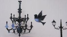 3D Chandelier #laser_cutter #decoration #acrylic