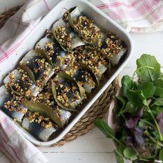Cómo preparar rollos de sardina al horno con Thermomix