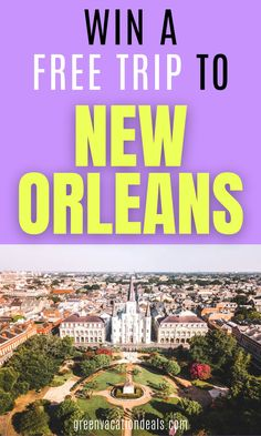 Enter Zapp's - New Orleans Road Trip Giveaway so you could win travel credit, luxury hotel stay, attraction tickets, French Quarter Restaurant dining, etc. Prize=$1,550. #NOLA #onetimeinnola #NewOrleans #Louisiana #BigEasy #TheBigEasy #FrenchQuarter #freetravel #travelforfree #travelbucketlist #bucketlist #BourbonOrleans #BourbonSt #GeauxSaints