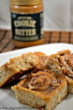 Speculoos Cookie Butter Pecan Rolls 2
