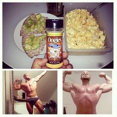 Cardio: 70min  Frukost: Äggvita, 400g Hela ägg, 3st Vitt ris/ Vilt ris, 3dl (kokt) Avocado, 1st Knäckebröd + Oogies (för smaken)  #breakfast #bodybuilding #diet #nolimits #teamnolimits #cardio #oogies #tyngre #aldrigvila #muscles #bmr #body #icaniwill #become #achieve