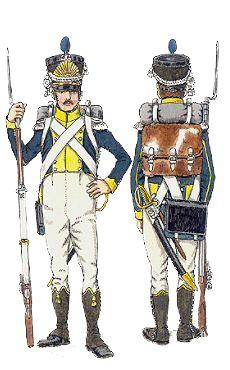 Fuciliere di un rgt. di fanteria della legione della Vistula