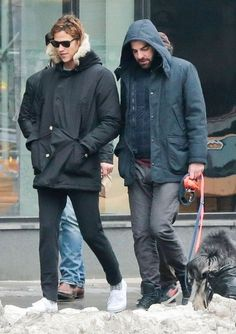 Zachary Quinto Photos: Zachary Quinto & Miles McMillan Walk Their Dogs In New York