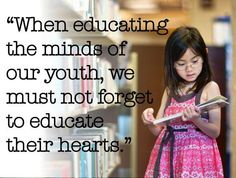 Quote from Dalai Lama. When we place as much emphasis on meeting children's emotional needs, as we do on meeting their academic needs. then true education will take place. Education English, Elementary Education, Elementary Science, Childhood Education, Dalai Lama, Girl Education Quotes, Love Amor, Thing 1, Quotes For Students