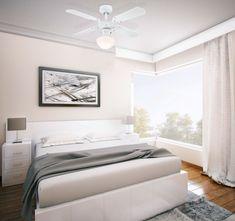 Ideal Fürs Schlafzimmer Und Empfindliche Ohren: Portland Ambiance Von  Westinghouse Zur Klimatisierung Von Kleinen Räumen