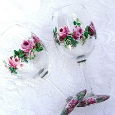 Painted Wine Glasses | 2687774564_1555f8ea0d_z.jpg?zz=1