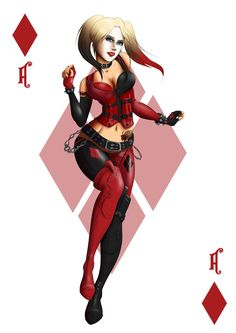 Harley Quinn by roxyjana on DeviantArt