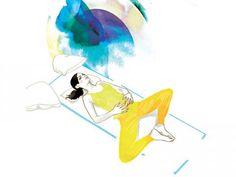 Moonlight-Yoga schenkt Euch tiefe Entspannung, hilft Körper und Geist bei der Regeneration und sorgt für Ruhe nach einem anstrengenden Tag.