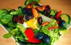 Sweet Garden Salad. 148 calories, plus dressing