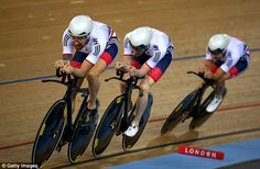 Wiggins and his team-mates lost by 1.129 seconds to rivals Australia in London...UCI World Championships 2016