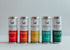 Qualicum Coffee & Tea on Packaging of the World - Creative Package Design Gallery