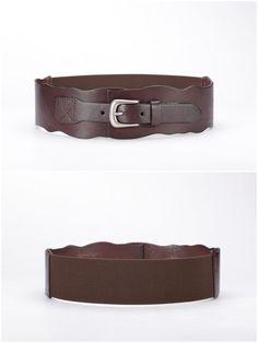 8fdcf03ab RUI Women Waist Belts for Dresses Tops Shirts · Women Genuine Cowhide  Leather Coffee Wavy Belts https://www.amazon.com