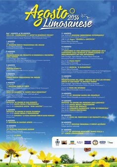 Agosto 2014 Limosanese - Programma completo per Agosto a Sant'Angelo Limosano (Campobasso)