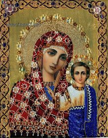 MAICA DOMNULUI: 15 ICOANE ALE MAICII DOMNULUI DIN CAZAN Virgin Mary Art, Blessed Virgin Mary, Religious Icons, Religious Art, Mother Mary, Mother And Child, Christian Artwork, Queen Of Heaven, Spirited Art