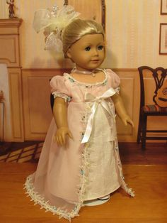 Pink Charm for Caroline Abbott 1812 Regency Era by petrassewingbox. Listed 6/1/14 at $139.99