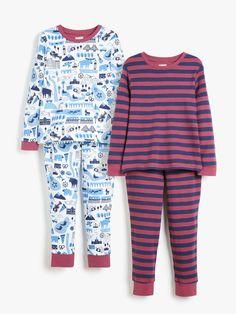 Girls Pajamas, Cotton Pyjamas, Our Girl, Stripe Print, 6 Years, John Lewis, Nightwear, Fall Outfits, Long Sleeve Tops