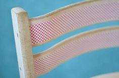 Washi tape chair ✿Teresa Restegui http://www.pinterest.com/teretegui/✿