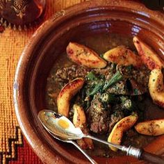 Lamb, Quince, and Okra Tagine