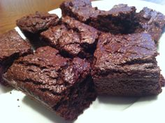 Thick Healthy Brownies (Gluten, Egg, Dairy, & Refined Sugars Free ...