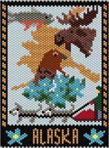 Alaska State Amulet/Mini Tapestry