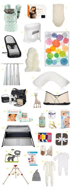The essential baby registry
