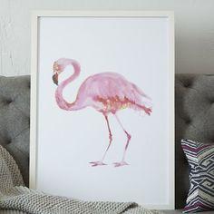 {flamingo art}