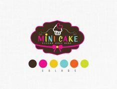 Panadería personalizado logotipo diseño por MaggieArtStudio en Etsy
