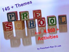 FREE preschool lesson plans, themes activities and ideas for your classroom by www.preschool-plan-it.com