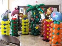 69 Best Balloons Jungle Safari Images Balloons Jungle Party