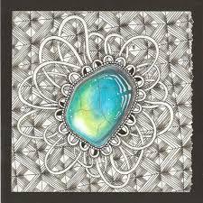 Afbeeldingsresultaat voor enajylime zentangle gems