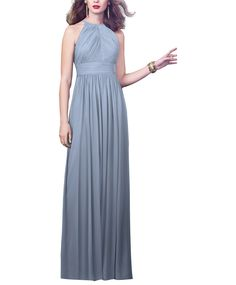 Take a look at this gorgeous Dessy Style 2918 bridesmaid dress in periwinkle fabric! Available in sizes and tons of colors at Brideside. Shop online, try at home or visit one of our showrooms! Navy Blue Bridesmaid Dresses, Bridesmaid Dress Styles, Navy Bridesmaids, Burgundy Bridesmaid, Formal Dresses, Wedding Dresses, Grey Dresses, Chiffon Dress, Green Dress