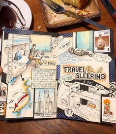 """Interview: Avid Adventurer Reveals His Brilliant Travel Journal Ideas """"Nothing beats the feeling when you read an old journal and recall everything you've done. Travel Journal Scrapbook, Bullet Journal Travel, Bullet Journal Ideas Pages, Journal Pages, Best Travel Journals, Top Travel Destinations, Thailand Travel, Journal Inspiration, Vintage Travel Posters"""