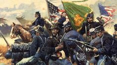 Even though I was still fairly new to the country, I fought in the Civil War for the Union.