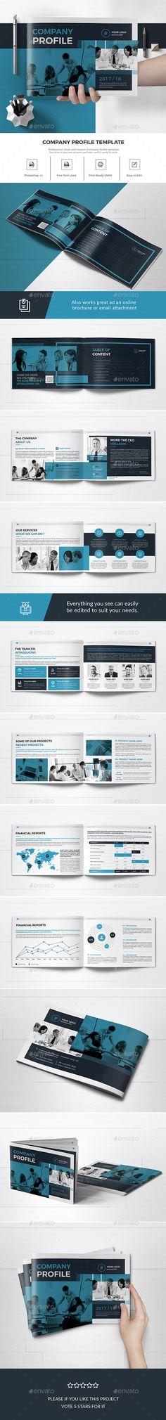 Company Profile - Landscape Company profile design, Company - profile company template