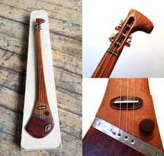 Custom made slide guitar by DaShtick. Diddley bow with a Celtic twist. CBG. on Etsy, $449.88