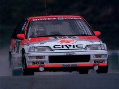 Honda Civic race car