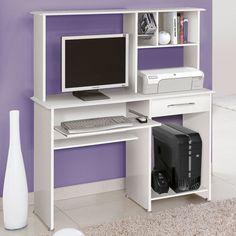 Para estudar e trabalhar com muito mais conforto, as mesas para computador são essenciais! Opte pelos modelos com gavetas e nichos para deixar os materiais sempre em fácil alcance. ;)