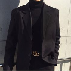 Suit Fashion, Mens Fashion, Fashion Outfits, Black Outfit Men, Cool Outfits, Casual Outfits, Vetement Fashion, Korean Fashion Men, Mode Streetwear