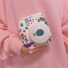 Stickers on Instax | Source: Unknown
