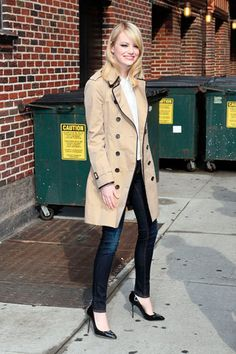 Get the look: Básico de otoño a la Emma Stone