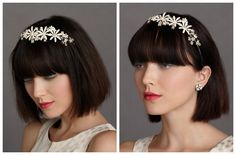 Wedding Headbands For A Vintage Rustic Wedding - Rustic Wedding Chic