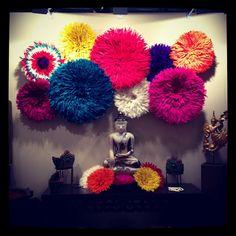 love this Juju hat wall instalation