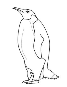 Penguin coloring page from Penguins category. Select from 28148 printable crafts of cartoons, nature, animals, Bible and many more.